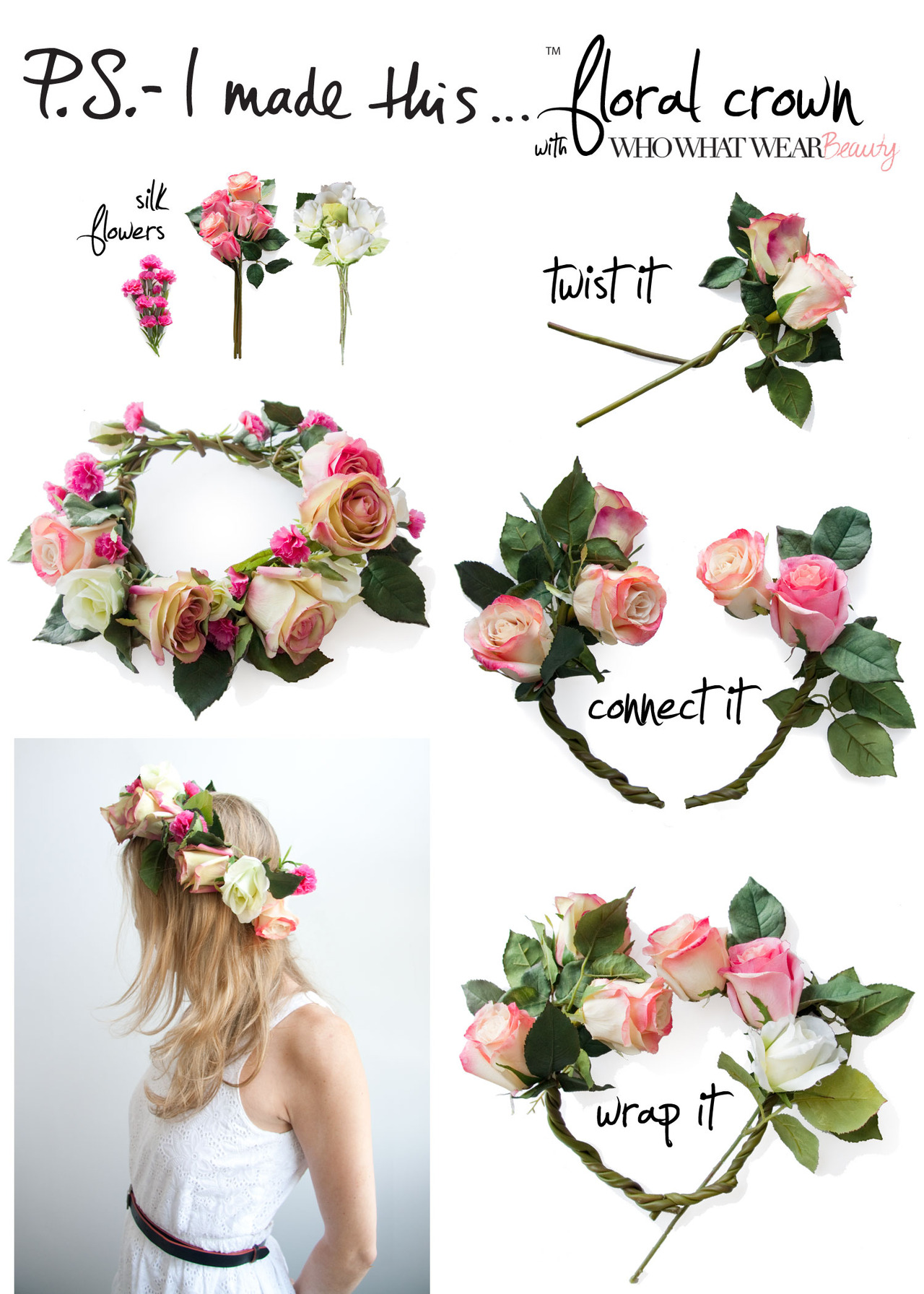 Style loves diy flower crown gimme good style advertisements izmirmasajfo