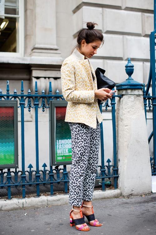 cheetah, london thesartorialist.com