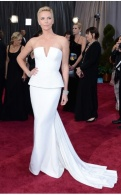 Charlize Theron looking magnificent in Dior Couture