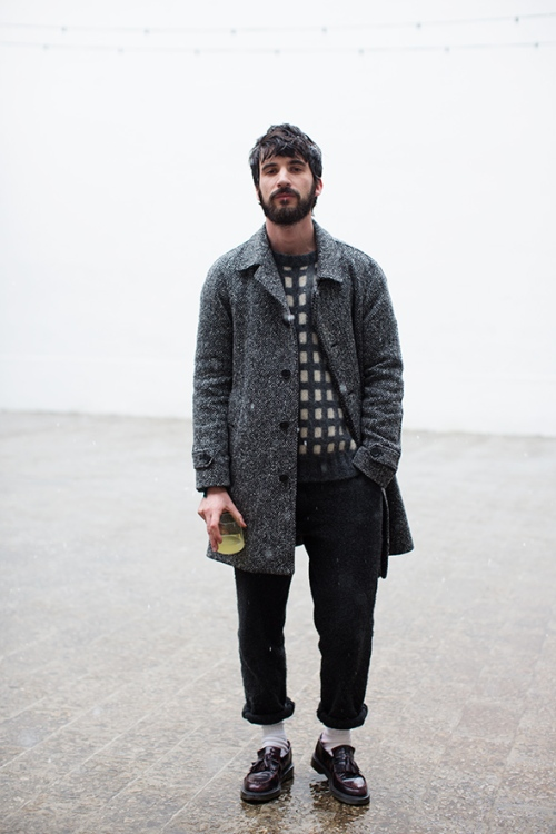 grey, milan thesartorialist.com