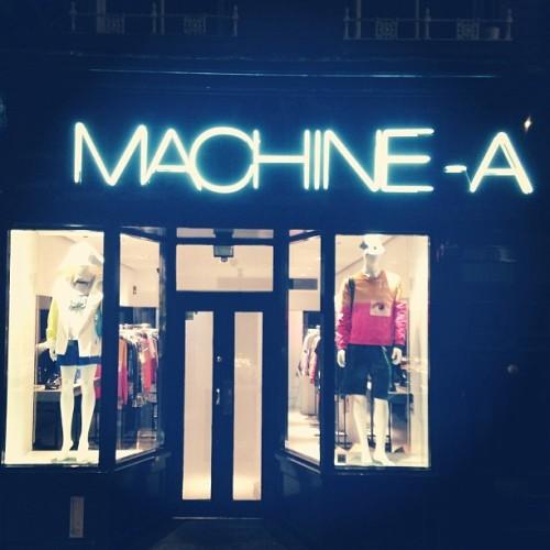 machine a
