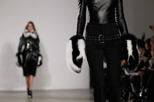 fur glove altuzarra style.com