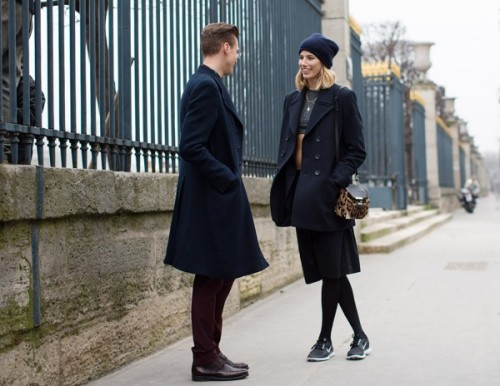paris thesartorialist.com couple
