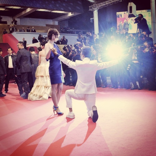tian zhu ding cannes style.com