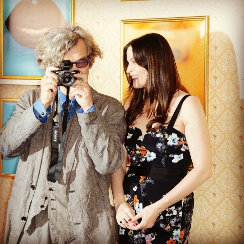 wim wenders and liv tyler cannes style.com