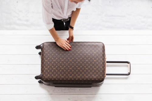 Louis Vuitton luggage parkandcube.com