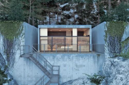 chair house by igor sirotov architect