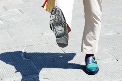 painted sneaker streetfsn