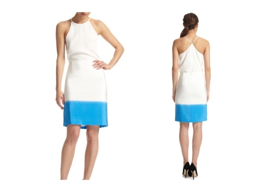 TIBI Surf Multi Fade Out Stripe Pencil Skirt modaoperandi.com