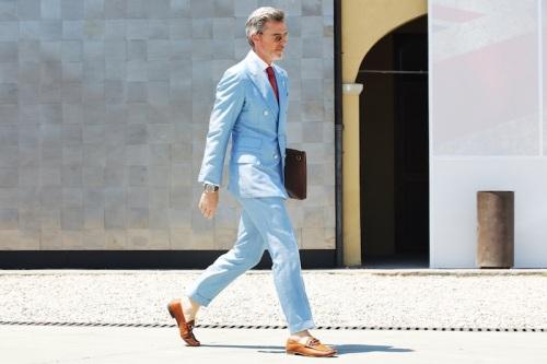 blue suit streetfsn