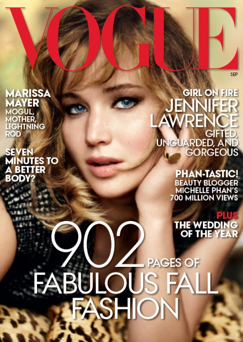jennifer lawrence for vogue us september issue redcarpet-fashionawards.com
