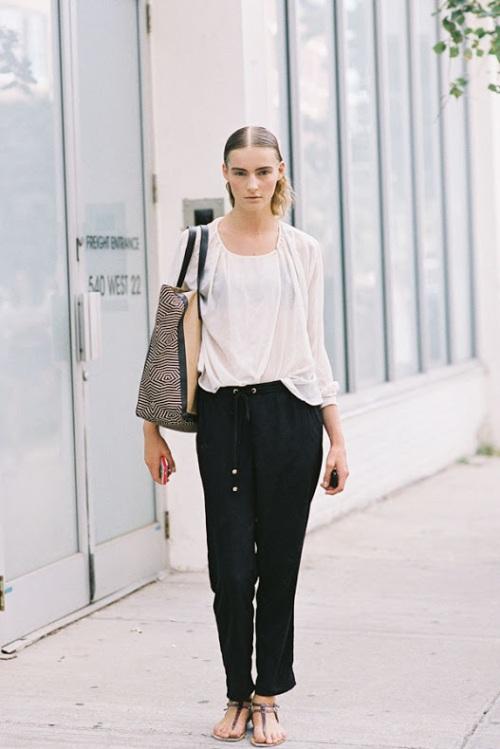 ny fashion week marine vanessajackman.blogspot.com