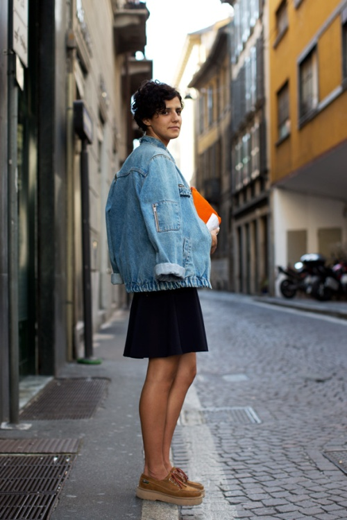 is denim making a comeback thesartorialist.com