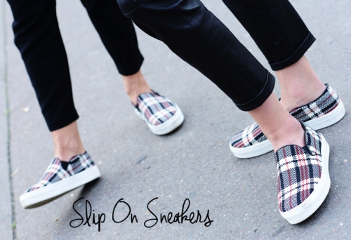 slip on sneakers style.com by tommy ton