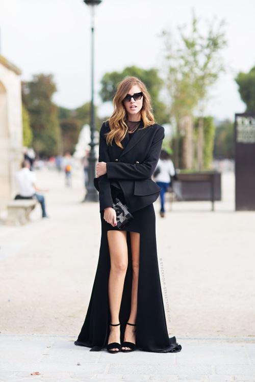 asymmetric skirt again carolinesmode.com